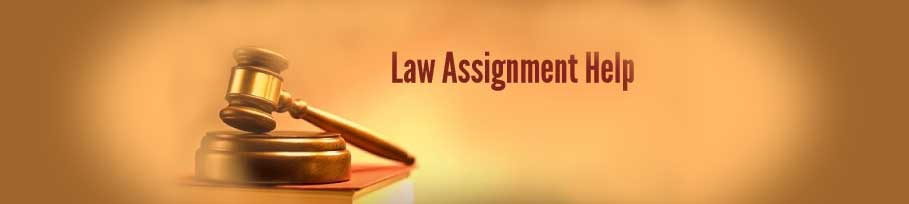 Law Assignment Work Online